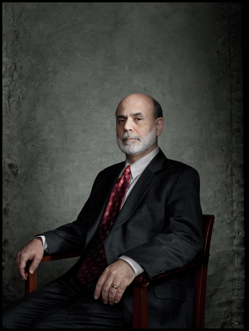 Ben Bernanke, Chairman of the Federal Reserve - Washington, D.C. - Time Magazine (Man of The Year)