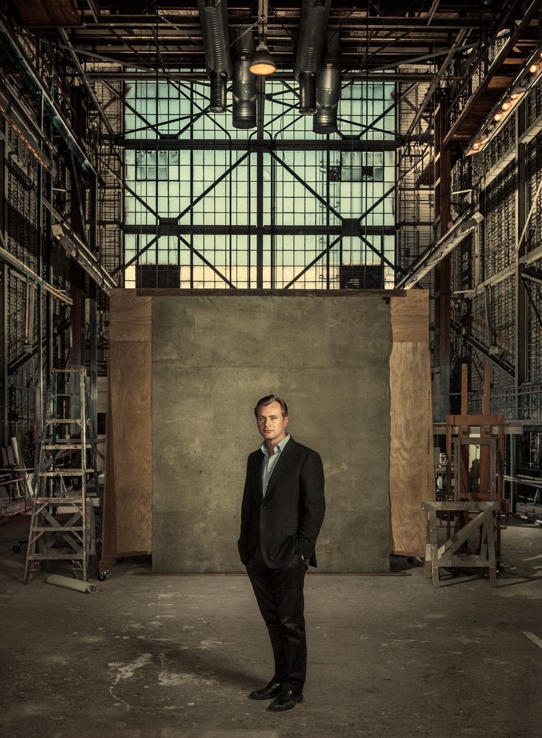 Christopher Nolan - Los Angeles, CA - Wired Magazine