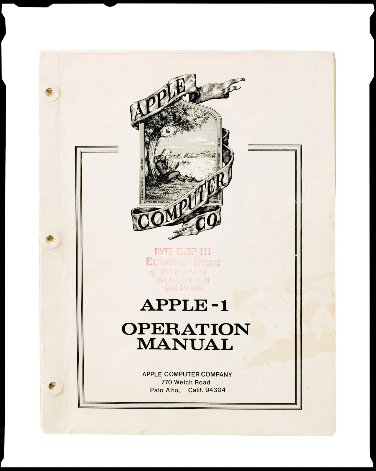 Apple-1 Orientation Manual