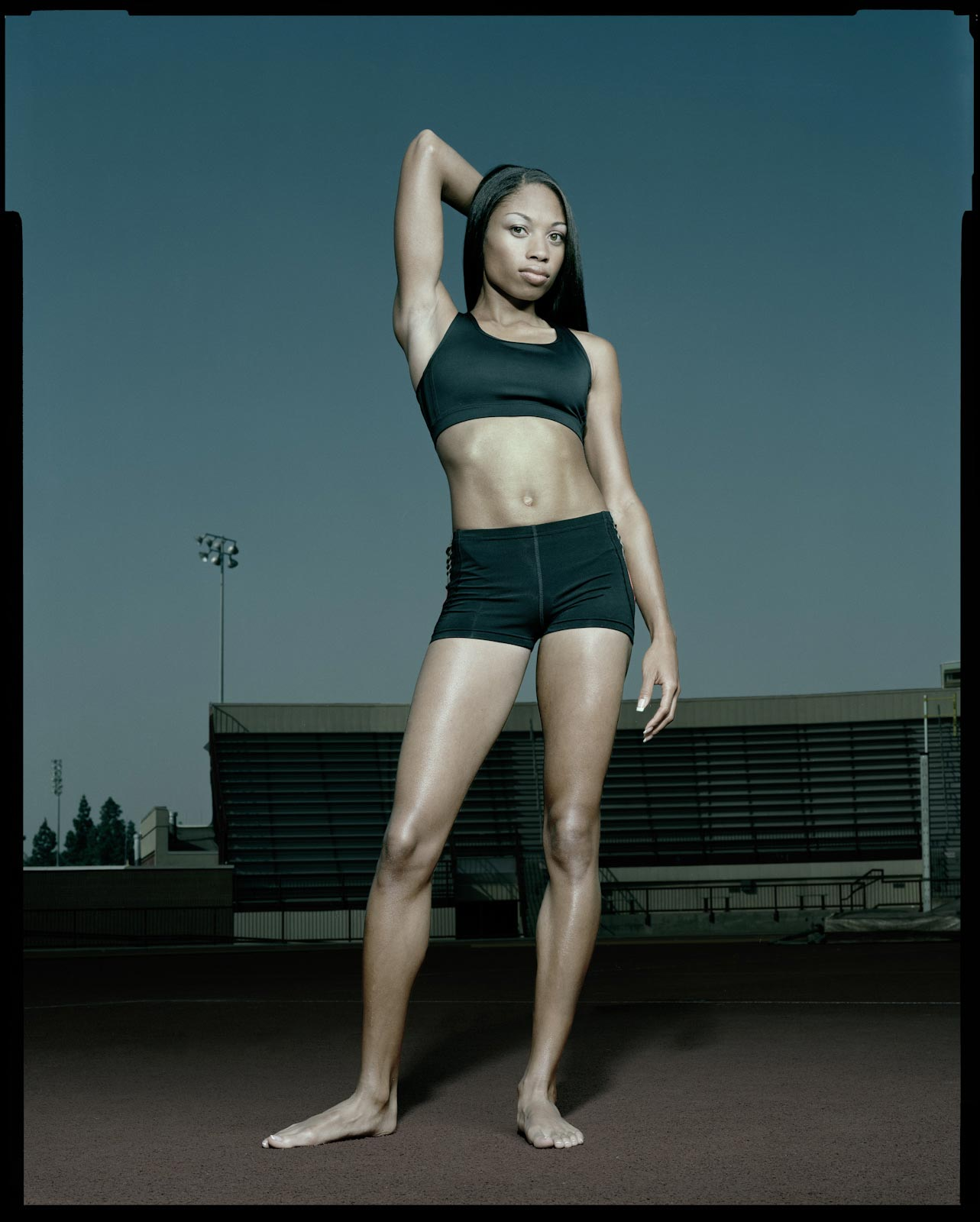 Allyson Felix - Los Angeles, CA - Sports Illustrated