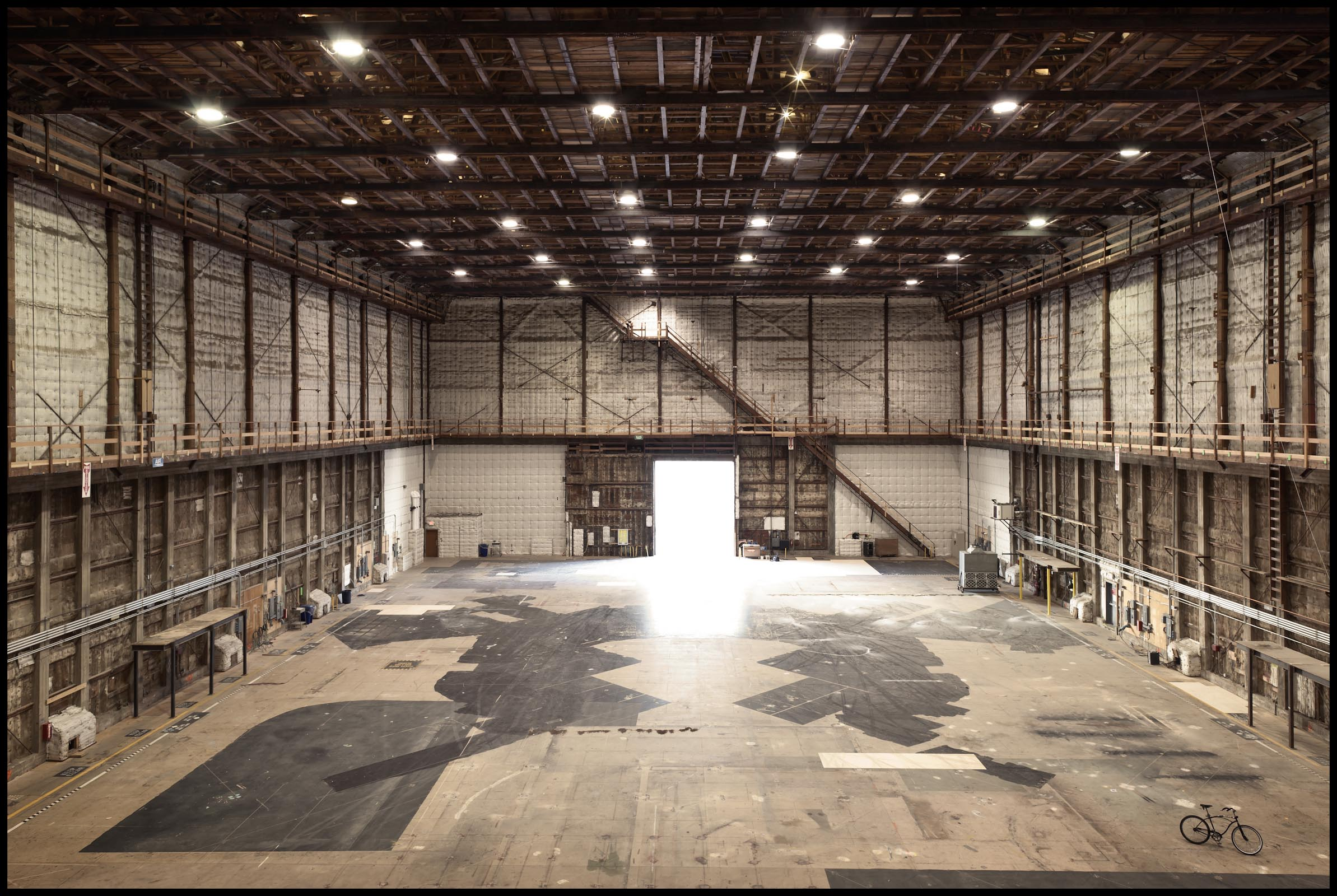 Stage 16, the tallest soundstage at Warner Bros - Burbank, CA - Los Angeles Magazine