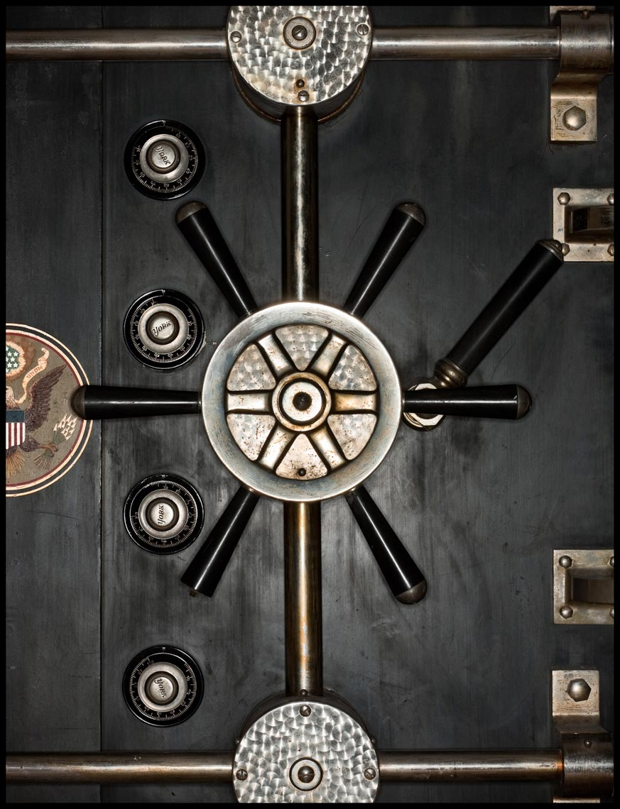 Treasury Department Vault Door - Washington, D.C. - Time Magazine (Man of The Year)
