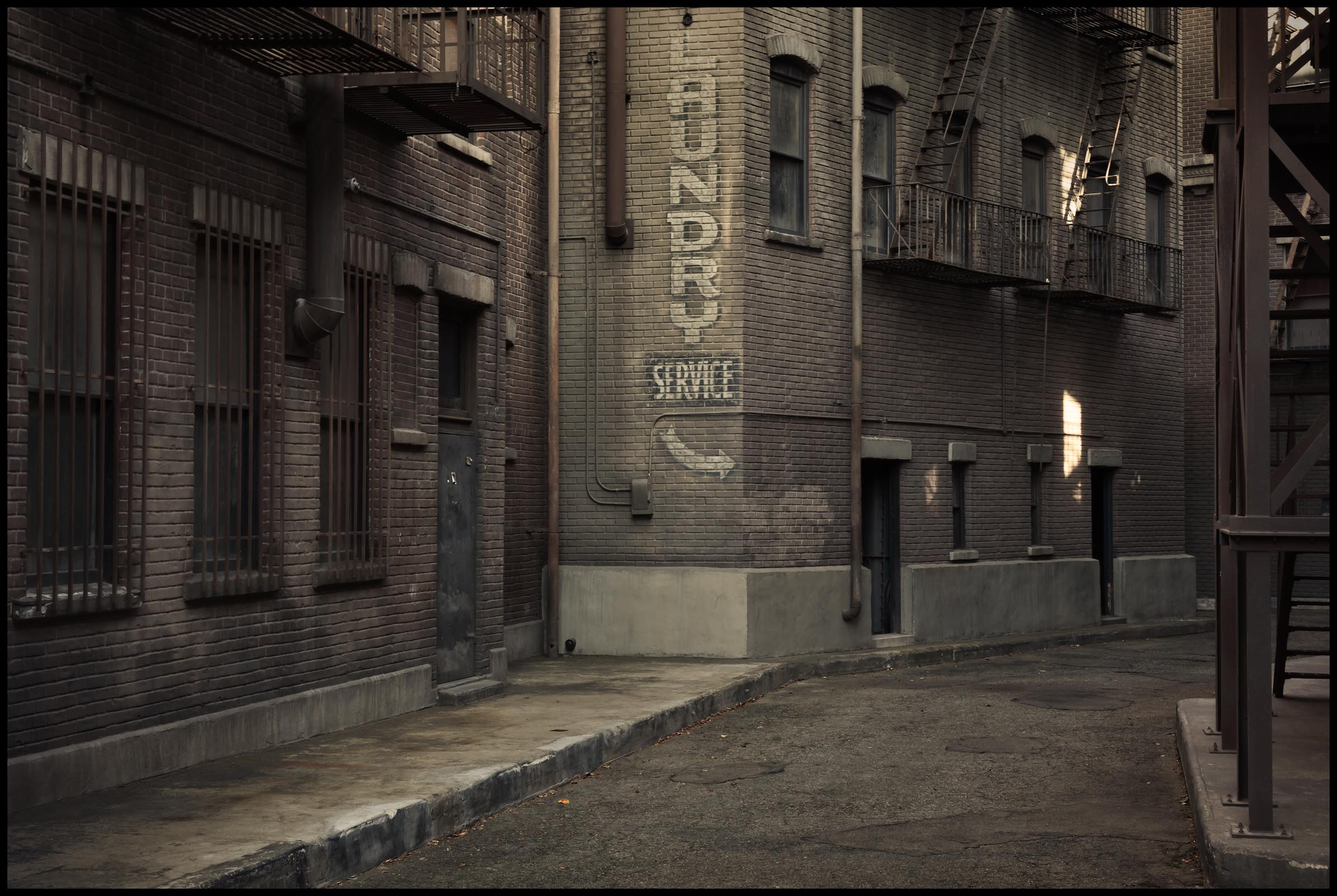 Warner Bros. Studios, Back Alley in New York Street - Burbank, CA - Los Angeles Magazine