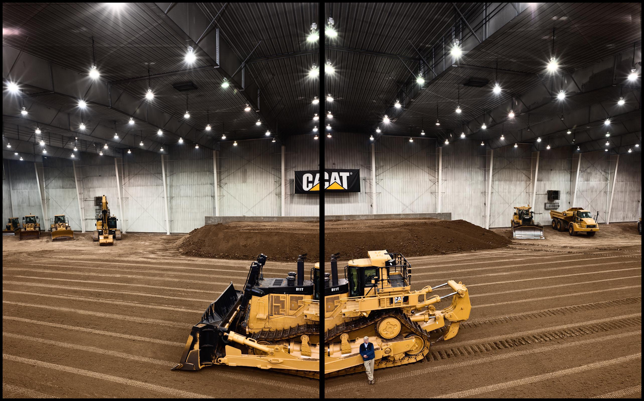 Caterpillar Showroom - Peoria, IL - Fortune Magazine