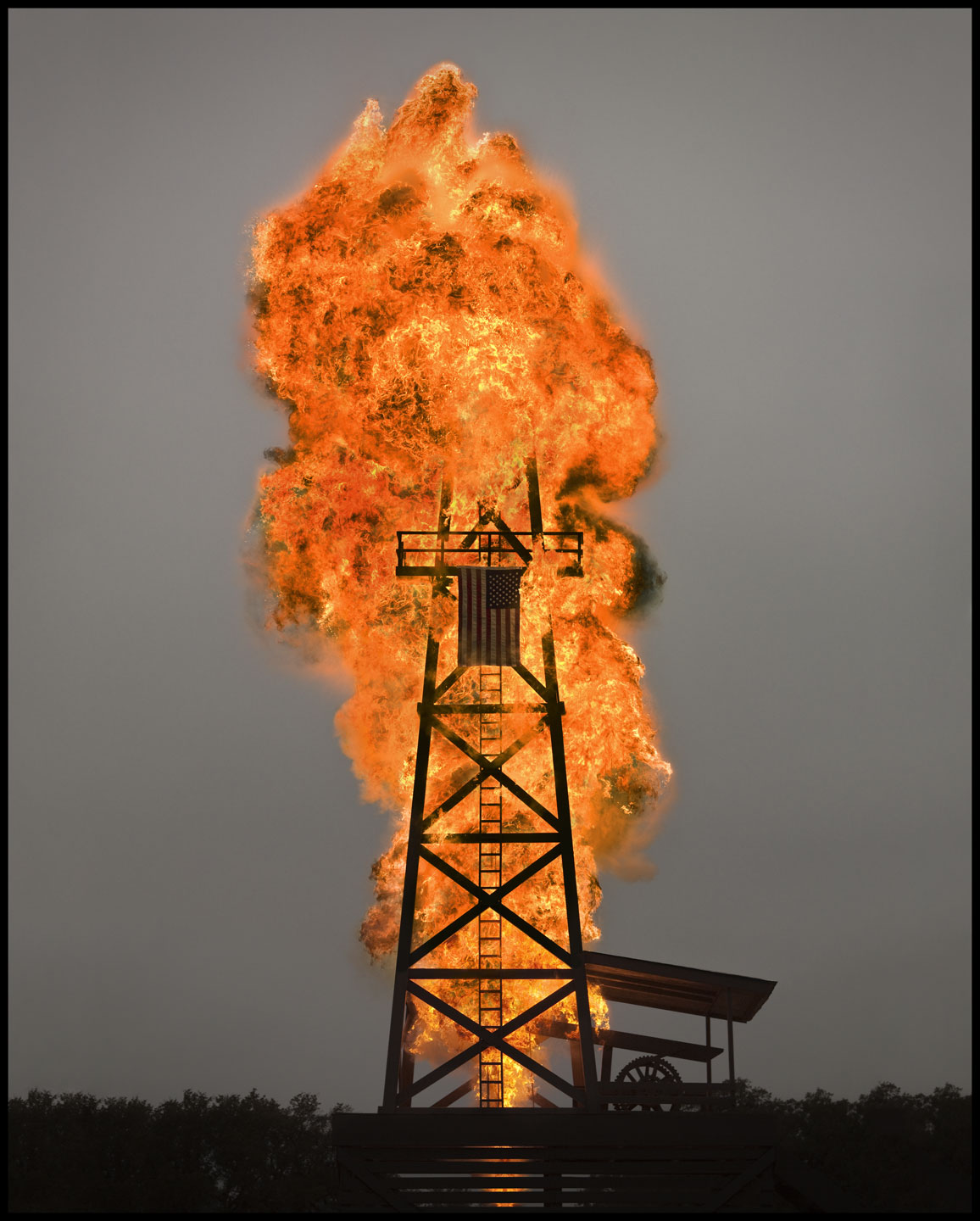 Oil Derrick Explosion - Driftwood, TX - Fast Company