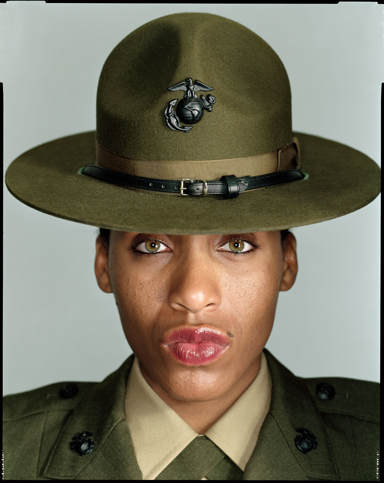 Drill Instructor, Donna Braveboy - Paris Island, SC - New York Times Magazine