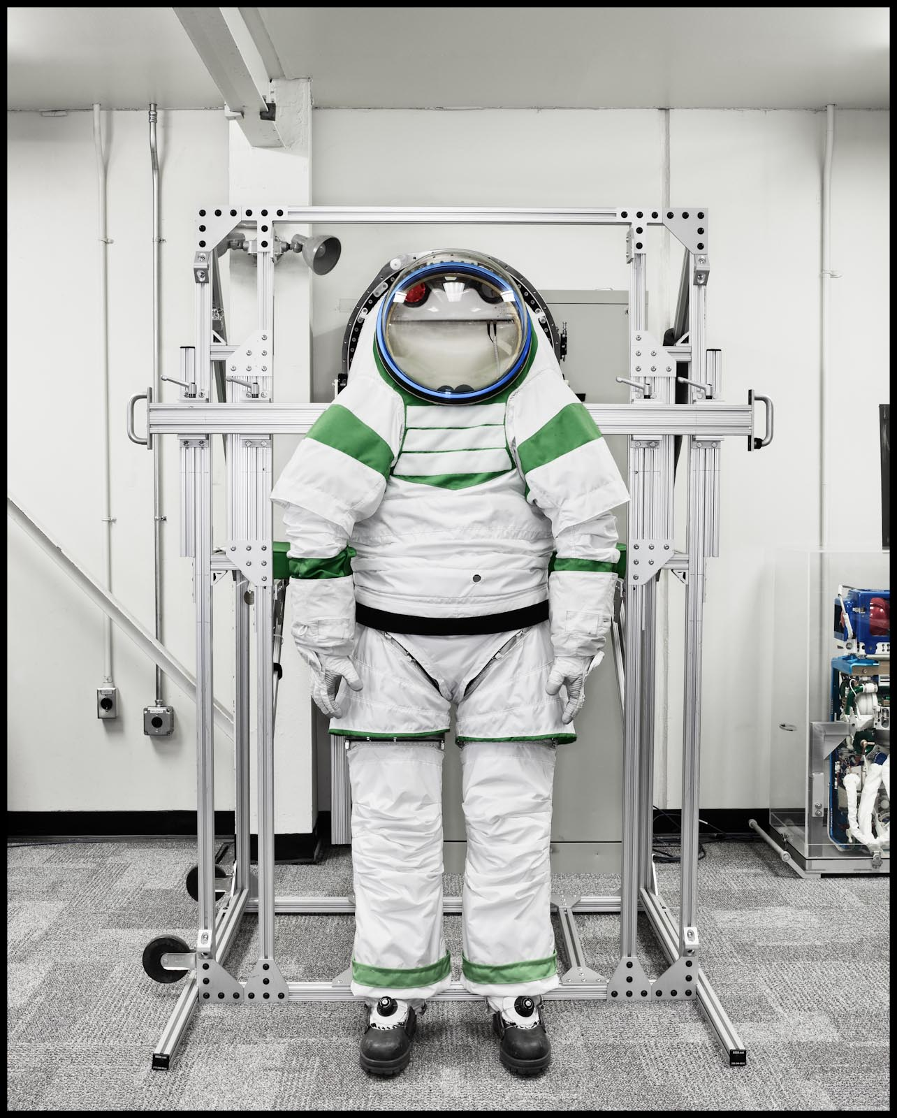 Space Suit prototype - Johnson Space Center - TIME Magazine