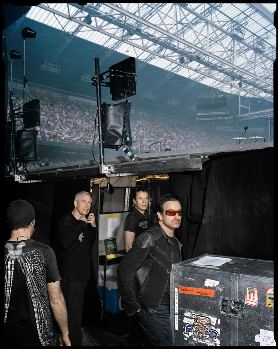 U2 - Amsterdam Arena, The Netherlands - New York Times Magazine