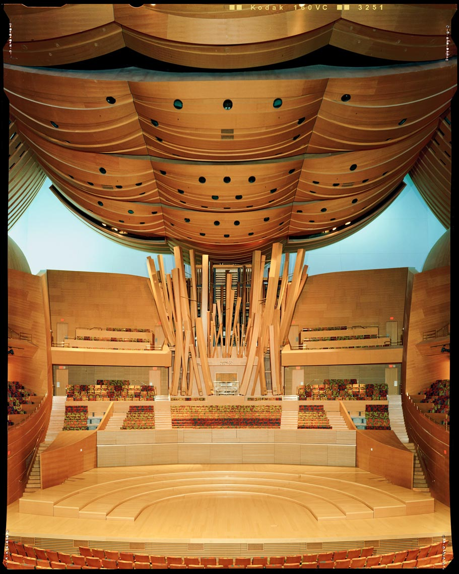 Disney Concert Hall Interior - Los Angeles, CA - Los Angeles Magazine