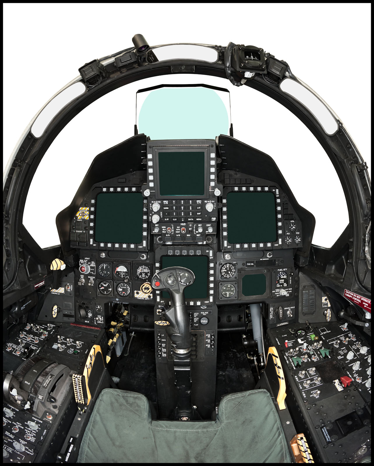 F-15 Eagle Cockpit - St. Louis, MO - Fortune Magazine