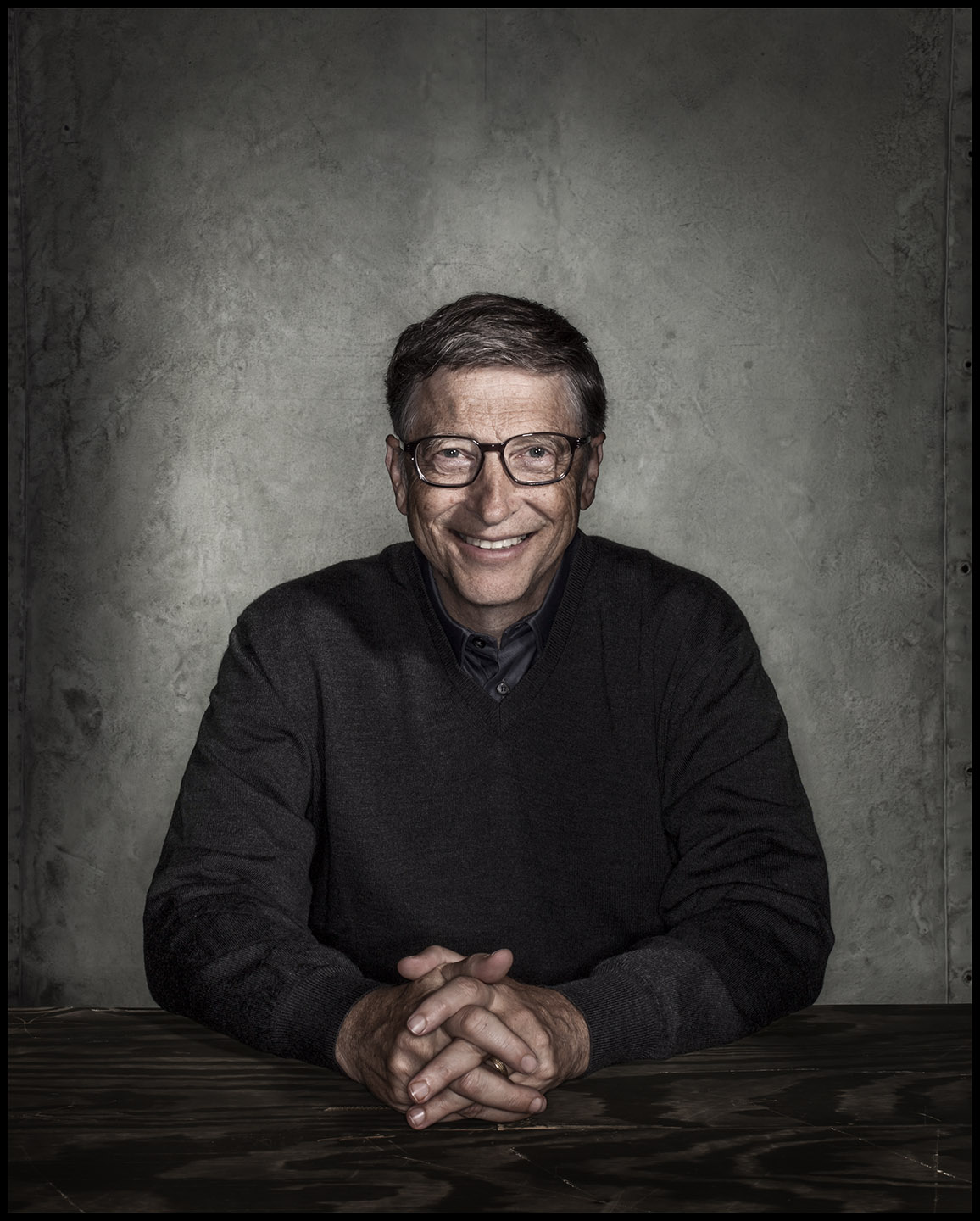 Bill Gates - Kirkland, WA - New Yorker Times Magazine