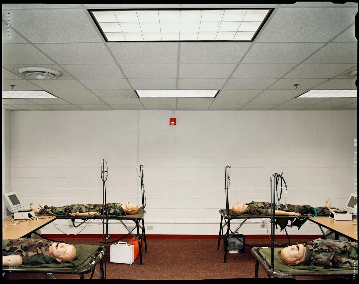 Army Medical Training Facility - San Antonio, Texas - New York Times Magazine