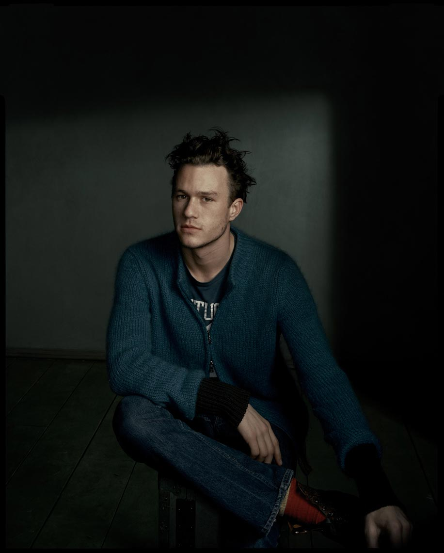 Heath Ledger - Hollywood, CA - W Magazine