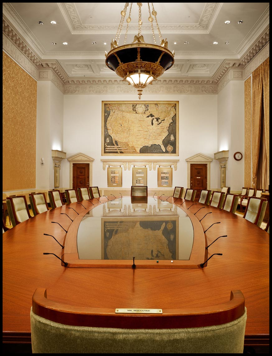 Federal Reserve Board Room - Washington, D.C. - Time Magazine (Man of The Year)