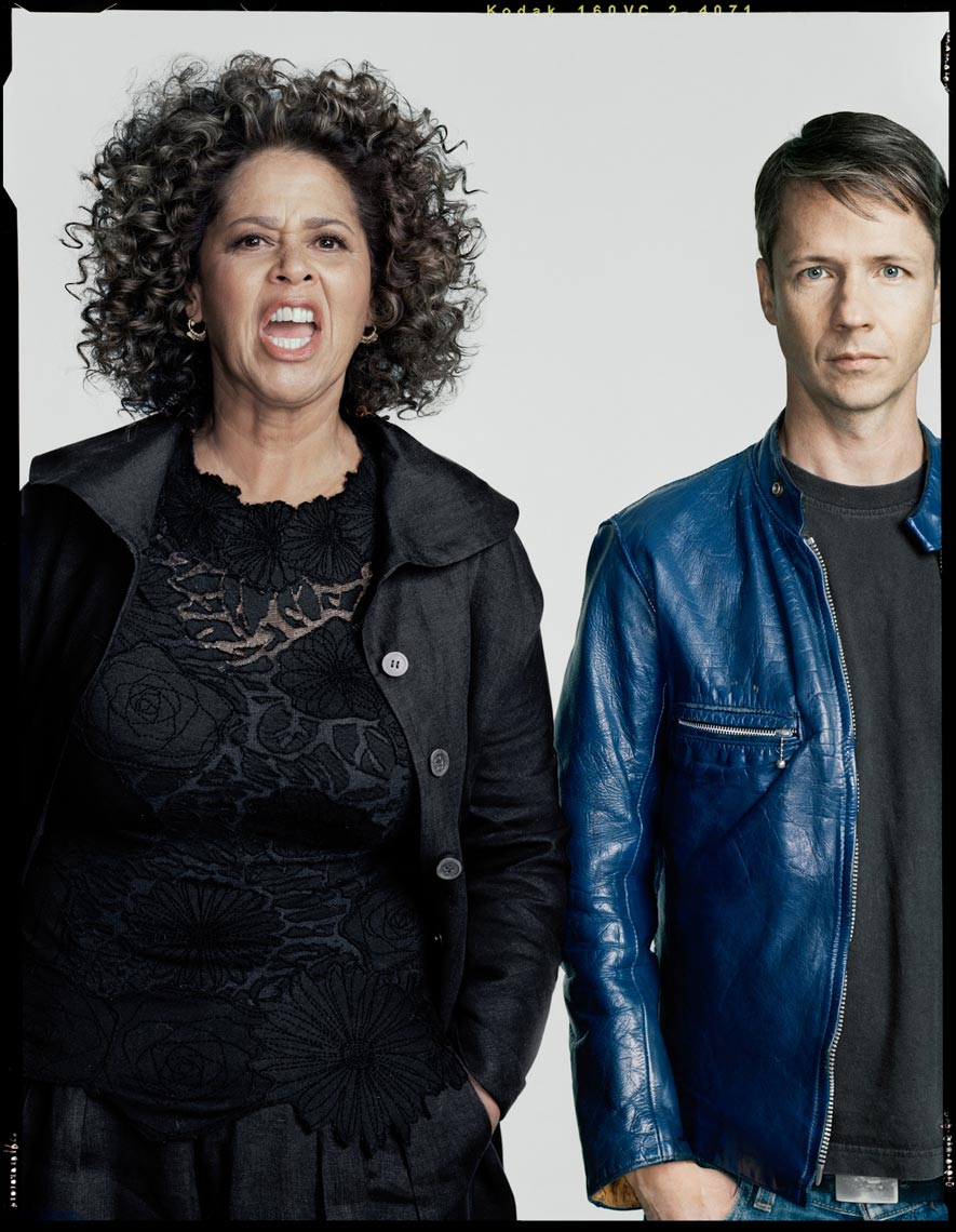 Anna Deavere Smith and John Cameron Mitchell - New York Magazine