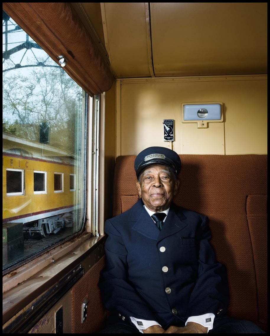 Hundred Year Old Pullman Conductor - Los Angeles, CA - AARP