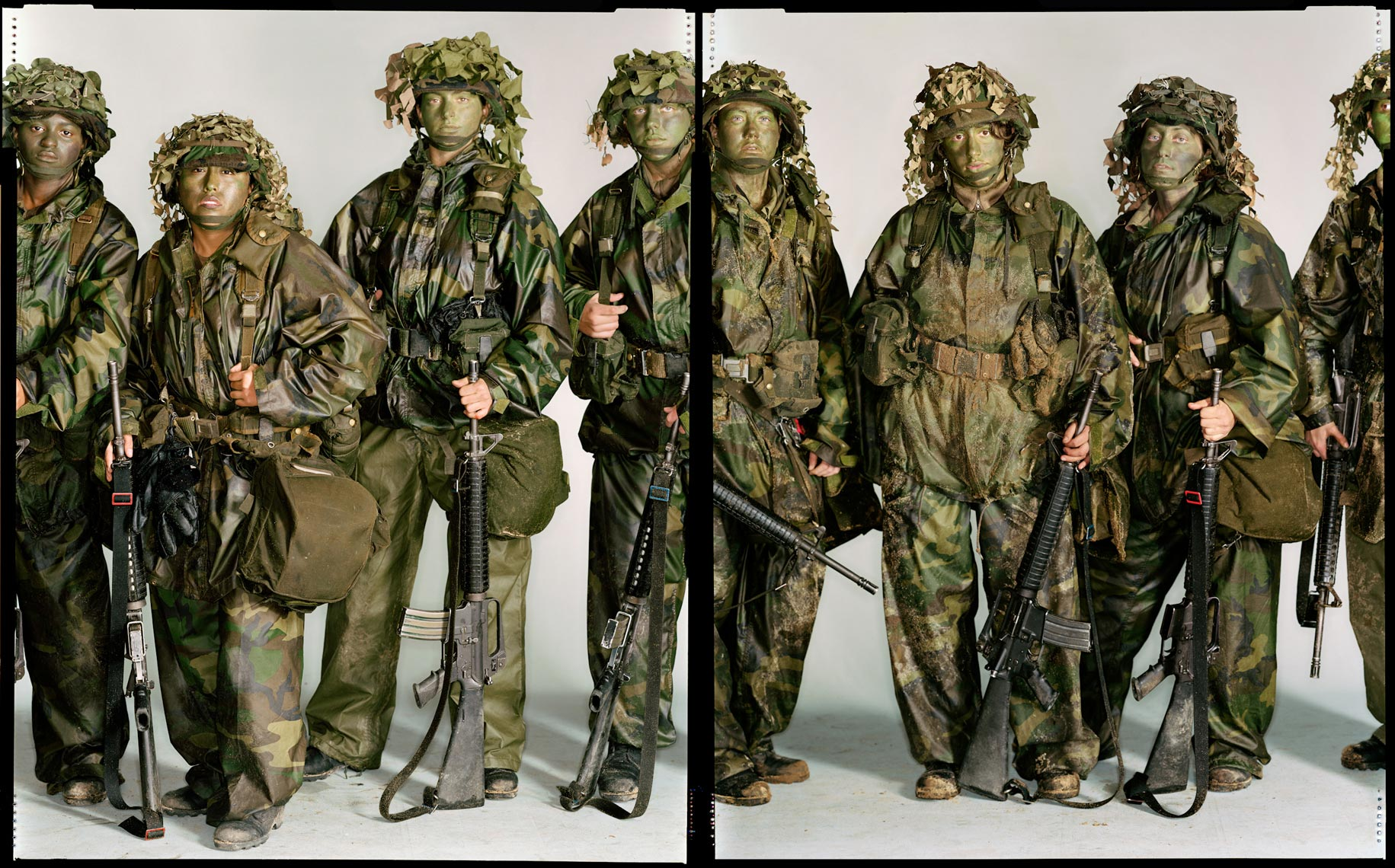 Female Soldiers - Fort Benning, GA - New York Times Magazine