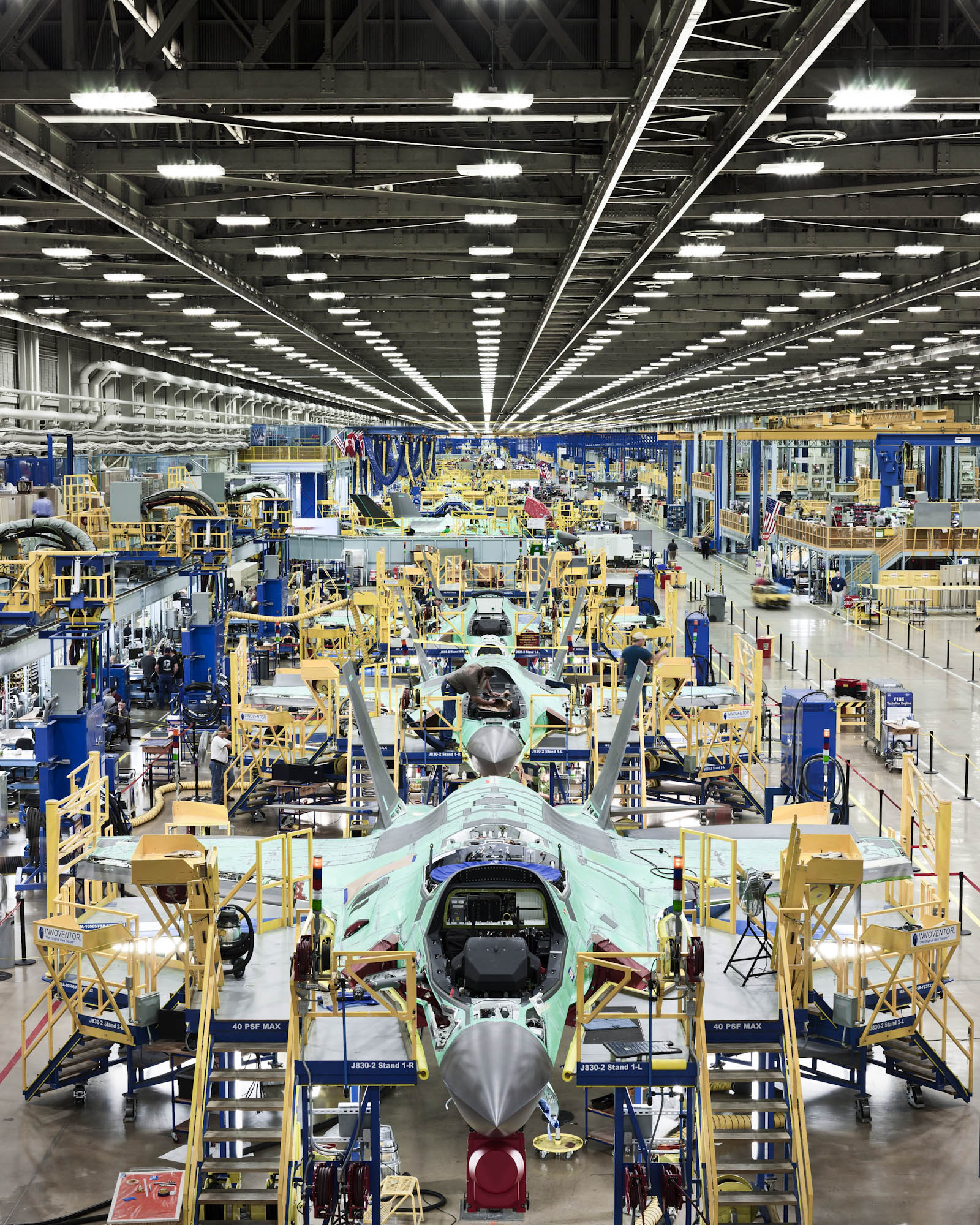 F-35 Assembly Line - Ft. Worth, TX - Fortune Magazine