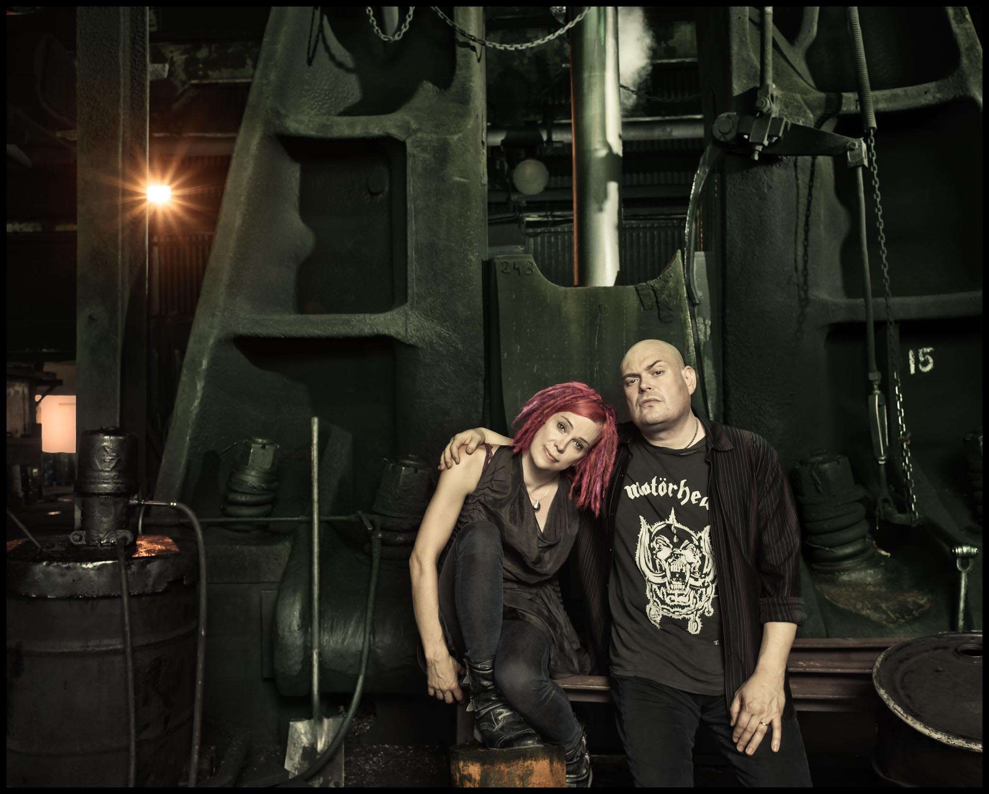 Lana & Andy Wachowski - Chicago, IL - New Yorker Magazine